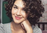 Best womens cute short curly hairstyles for 2017 spring Curls On Short Hair Styles Inspirations
