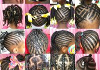 black little girls hair styles African American Little Girl Braid Styles Designs
