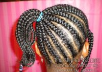 black little girls hair styles African Braids Hairstyle For Girls I Inspirations
