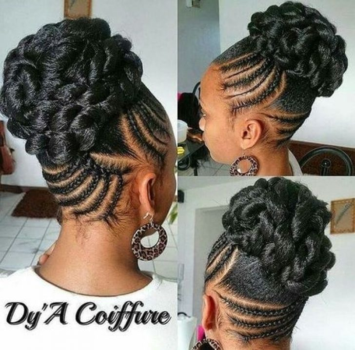 Permalink to Awesome Updo Braid Styles For Black Hair Gallery