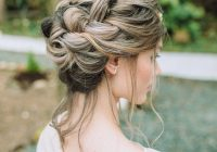 braided wedding hairstyle braided hairstyles hair styles Cornrows Hairstyles For The Wedding