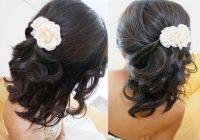 bridal hairstyle for short medium long hair tutorial weddings prom Wedding Hairstyles For Short To Medium Length Hair Inspirations