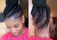 cornrow updo hair styles natural hair styles braided Braided Updo Styles For Black Hair Choices