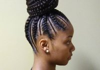 cornrows ponytail natural hair styles cornrow ponytail Braids Styles For Black Hair Choices