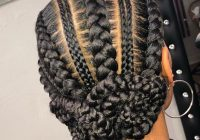 Cozy 105 best braided hairstyles for black women to try in 2020 African American Cornrow Braided Hairstyles Designs