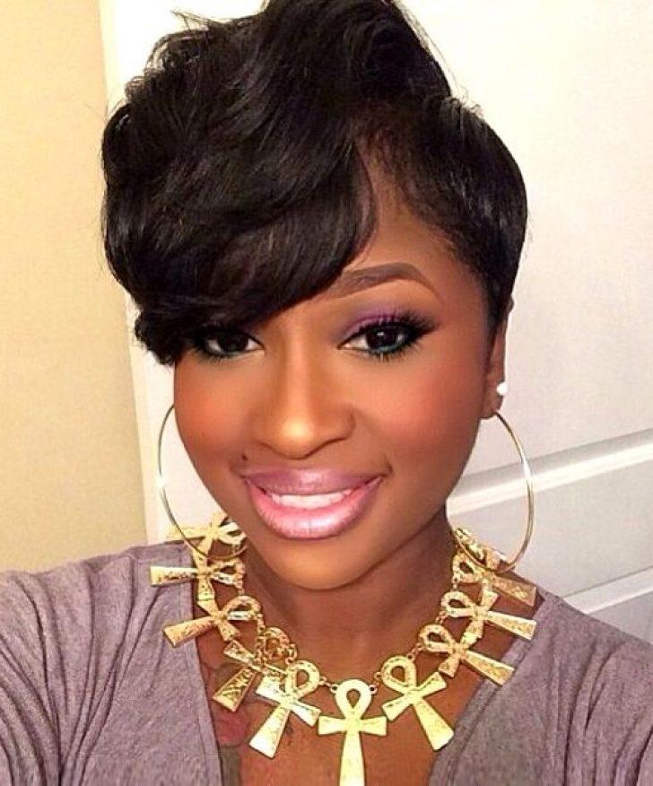 Permalink to 11 Elegant Short Hairstyles On African American Hair