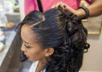 Cozy 30 modern wedding hairstyles for black women weddingwire African American Wedding Hairstyles For Medium Hair Designs