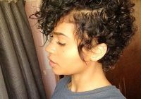 Cozy 35 cute hairstyles for short curly hair girls African American Short Curly Haircuts