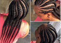 Cozy african american cornrow hairstyles cornrow hairstyles African American Big Braids Ideas