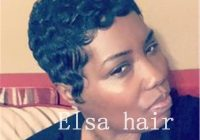 Cozy black short hairstyles finger waves hairstyles capless human hair wigs for black woman none lace full wigs direct wigs wig shampoo and conditioner African American Short Finger Wave Hairstyles Ideas