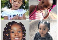 Cozy exquisite and exotic hairstyles for black toddler curly craze Cute Hairstyles For African American Toddlers Designs