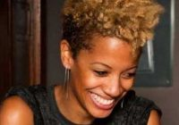 Cozy good natural black short hairstyles African American Short Natural Hair Styles Ideas