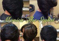 Cozy head2toe magazine on instagram repost monicathestylist African American Feathered Bob Hairstyles Ideas