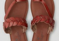 Cozy shoes american eagle outfitters brown flat sandals Brown Braided Sandals American Eagle Ideas