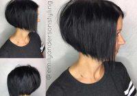 dark short hair colors short hairstyles haircuts 2019 Dark Short Hair Styles Ideas