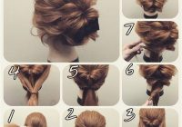 easy hairstyles for short hair step step best of 43 Hairstyle For Short Hair For Wedding Step By Step Ideas