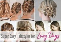 easy hairstyles for short to medium length hair see mama go Easy Hairstyles For Short Hair To Do At Home For School Inspirations