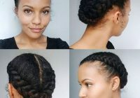 easy natural hairstyles for black women trending in African American Hairstyles I Can Do At Home Ideas