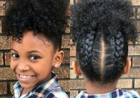 easy natural hairstyles for black women trending in Simple Hairstyles Natural African American Hair Designs