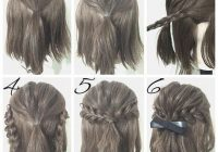 easy prom hairstyle tutorials for girls with short hair Quick Styling Ideas For Short Hair Ideas