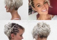 Elegant 10 messy hairstyles for short hair 2020 short hair cut Hairstyle Ideas For Short Hair Choices