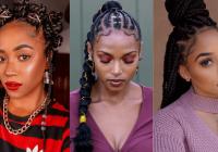 Elegant 105 best braided hairstyles for black women to try in 2020 African American Big Braids Hairstyles Designs