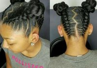 Elegant 12 easy winter protective natural hairstyles for kids Quick And Easy Hairstyles For African American Hair