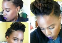 Elegant 13 natural hair updo hairstyles you can create Pin Up Styles For Short Natural Hair Ideas