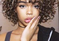 Elegant 141 easy to achieve and trendy short curly hairstyles for 2020 Cute Curly Hairstyles For Short Hair With Bangs Inspirations