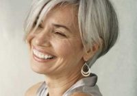 Elegant 15 hairstyles for short grey hair Short Haircuts For Grey Hair Choices