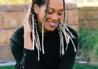 Elegant 15 refreshing braids for thin hair 2020 trends Braided Hairstyles For Thin Black Hair Inspirations