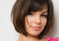 Elegant 16 cute easy short haircut ideas for round faces popular Short Hairstyles With Bangs And Layers For Round Faces Ideas