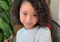Elegant 18 cutest short hairstyles for little girls in 2020 Cute Curly Hairstyles For Short Hair With Bangs Inspirations