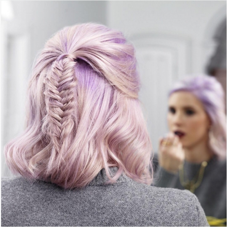 Permalink to Beautiful Easy Fishtail Braid For Short Hair