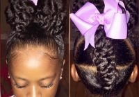 Elegant 20 cute natural hairstyles for little girls African American Little Girl Hairstyles Pictures Designs