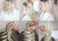 Elegant 20 easy holiday hairstyles for medium to long length hair Cute Braid Styles For Thick Hair Ideas
