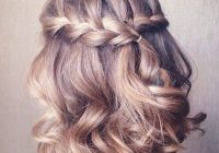 Elegant 20 gorgeous prom hairstyle designs for short hair prom Prom Hairstyles For Short Hair Down Ideas