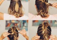 Elegant 20 incredible diy short hairstyles a step step guide Easy Hairstyles For Short Thick Hair To Do At Home Choices