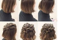 Elegant 20 incredible diy short hairstyles a step step guide Short Hairstyle You Can Do At Home Ideas