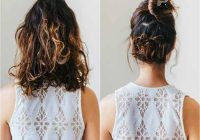 Elegant 20 incredibly stunning diy updos for curly hair Cute Simple Hairstyles For Short Curly Hair Choices
