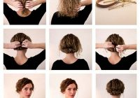 Elegant 20 incredibly stunning diy updos for curly hair Short Curly Hair Updo Styles Ideas