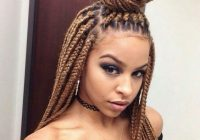 Elegant 2018 braided hairstyle ideas for black women the style Woman Braids Hair Style Ideas