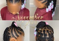 Elegant 2020 gorgeous braids for your lovely kids toddler braided Braiding Styles For Kids With Short Hair Inspirations
