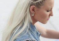 Elegant 21 glamorous braided hairstyles that white girls love White Hair Braid Styles Ideas