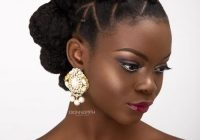Elegant 24 amazing prom hairstyles for black girls for 2020 African American Prom Updo Hairstyles Designs