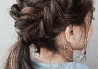 Elegant 30 best french braid short hair ideas 2019 short haircut French Braid Ideas For Short Hair Choices
