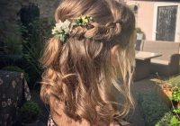 Elegant 30 best half up half down prom hairstyles all things hair Prom Hairstyles For Short Hair Down Ideas