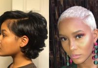Elegant 38 short hairstyles and haircuts for black women stylesrant Styling Short Hair For Black Women Ideas