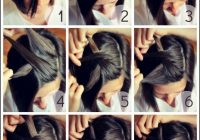 Elegant 4 easy half up hairstyles you can do in less than 5 minutes Cute Short Hairstyles You Can Do At Home Choices
