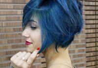 Elegant 40 hottest short hairstyles short haircuts 2021 bobs Blue Short Hair Styles Inspirations